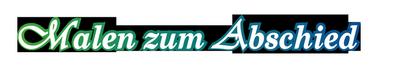 Malen zum Abschied Logo
